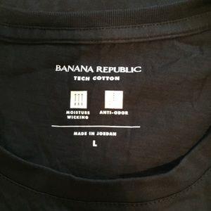 Banana Republic Shirts - Banana Republic tech cotton tee. NWT